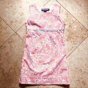 VINEYARD VINES | Girls Seashell Shift Dress